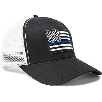 United Kingdom Thin Blue Line Flag Mens Casual Sun Hat