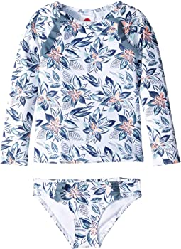 Bright White Flower Spirit Swim