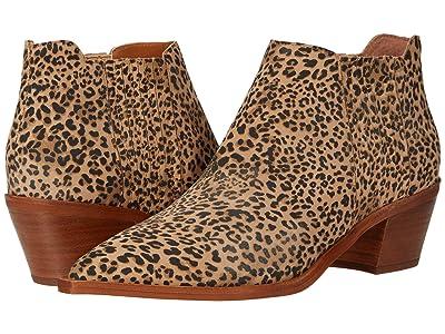 Dolce Vita Shana (Tan/Black Dusted Leopard Suede) Women