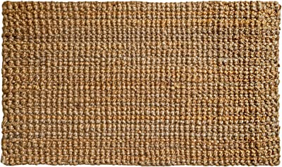 PLUS Haven Jute Doormat - Size: 17-Inches x 30-Inches - Pile Height: 1-Inch - Perfect Color/Sizing for Outdoor/Indoor