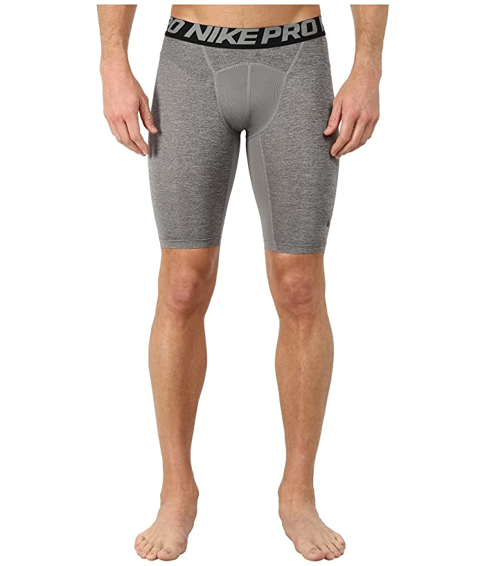 Nike Pro 9 Training Short (Carbon Heather/Black/Black) Men