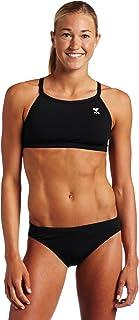 TYR Sport Women's Solid Durafast Diamondback Workout Bikini