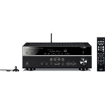 ヤマハ AVレシーバー RXV583(B) 7.1ch/Dolby Atmos&DTS:X/Bluetooth/Wi-Fi/ネットワークオーディオ/ハイレゾ音源対応 ブラック RX-V583(B)
