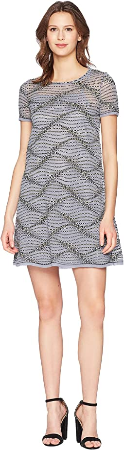 Sea Wave Knit Dress