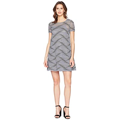 M Missoni Sea Wave Knit Dress (Gray) Women
