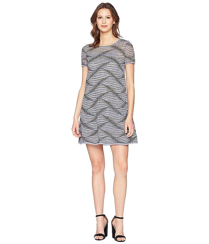 37a48572af M Missoni Sea Wave Knit Dress (Gray) Women