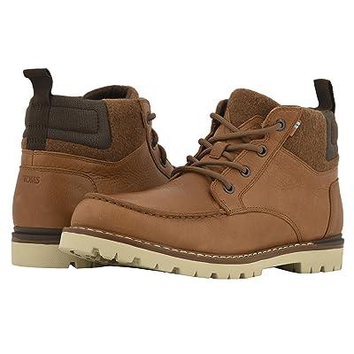 TOMS Hawthorne Waterproof Boot (Dark Toffee Leather) Men