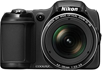 Nikon COOLPIX L820 16 MP CMOS Digital Camera with 30x...