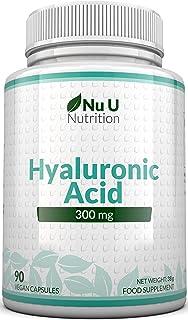 Ácido Hialurónico 300 mg | 90 Cápsulas (Suministro Para 3 Meses) | Tres Veces más Concentrado...