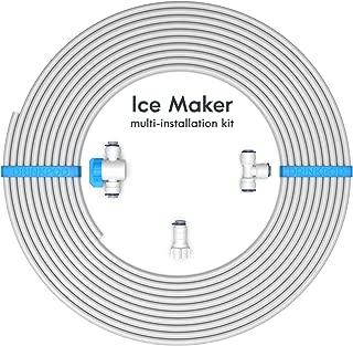 Drinkpod Universal Ice Maker Water Line Kit. Installation Kit for Standard 1/4