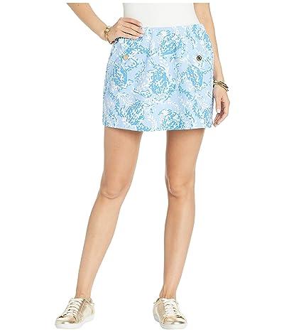Lilly Pulitzer Madison Skort (Blue Peri Turtley Awesome) Women