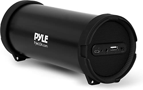 Pyle Surround Portable Boombox Wireless Home Speaker Stereo System, Built-in Rechargeable Battery, MP3/USB/FM Radio w...