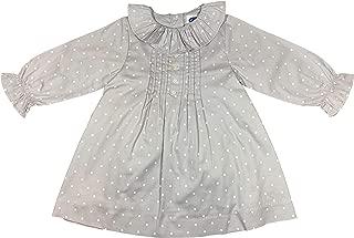 Girl Skirt Autumn-Winter Blue//Light Gray Tartan Patricia Mendiluce