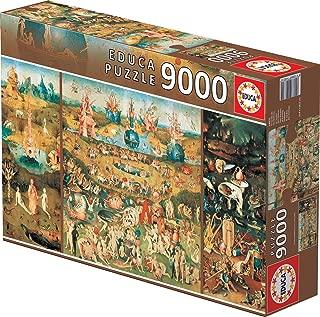 Educa 9,000 Piece Puzzle - The Garden of Earthly Delights
