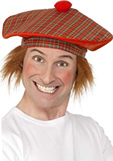 scottish hat with hair