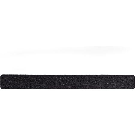 "Slip Guard Non-Slip Stair Tape - Indoor & Outdoor Waterproof Safety Steps, 2"" x 18"", 80 Grit, Black, 8 Pack"