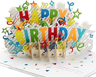 Hallmark Signature Paper Wonder Pop Up Birthday Card (Happy Birthday)