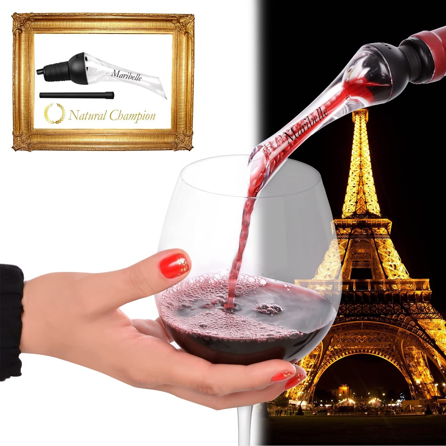 LIFE CHANGER: The Wine Aerator Pourer Max 73% OFF Spouts Best Product the Quali That