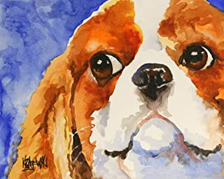 """Cavalier King Charles Spaniel Art Print 