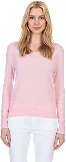 Classic V-Neck Sweater Cashmere Wool Long Sleeve Fashion...