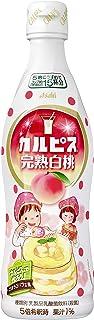 アサヒ飲料 カルピス 完熟白桃 プラスチックボトル 470ml