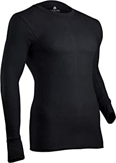 Indera Men's Cotton Waffle Knit Heavyweight Thermal Underwear Top