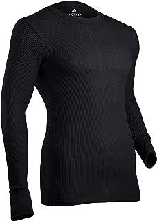 Men's Cotton Waffle Knit Heavyweight Thermal Underwear Top