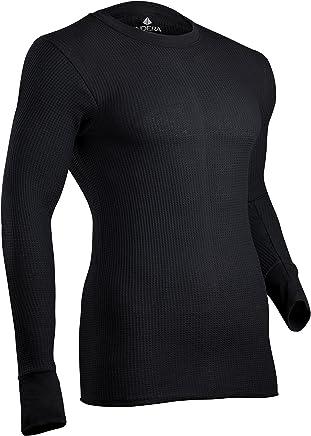 Indera Waffle Knit Heavyweight Ropa Interior térmico Parte Superior de algodón para Hombre