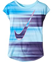 Nike Kids - Speed Blur Swoosh Modern Tee (Little Kids)
