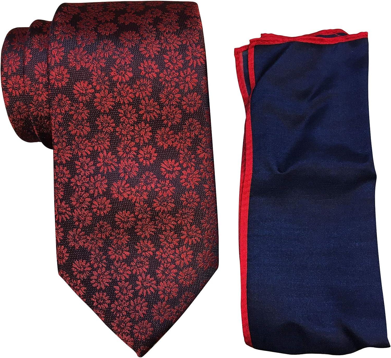 Ted Baker London Daisy Medallion Silk Tie & Pocket Square Set