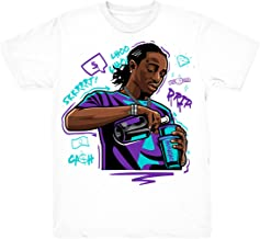 Grape 5 Quavo Drip Shirt to Match Jordan 5 Grape Fresh Prince Sneakers White t-Shirts