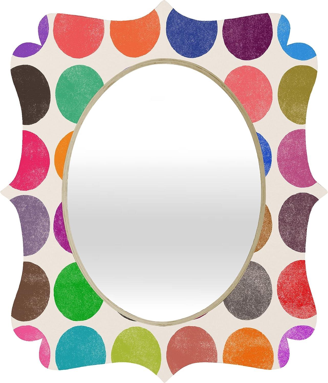 Deny Designs Garima Dhawan colorplay 15 Quatrefoil Mirror, Medium 28 x 23