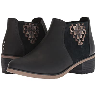 Reef Voyage Boot Low LX (Black/Black) Women