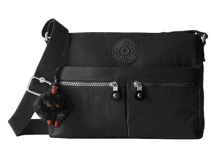 Kipling Kipling New Angie Crossbody Bag (Black Noir) Handbags from Zappos | Shop