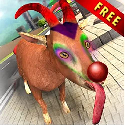 Crazy Goat Sim - San Andreas Vegas Crime City 3D
