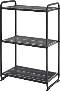 ECOWAN LIVING 3 Tier Storage Shelving Units, Duarable and Rust-Resistant, Stylish Design, Storage Orgnizer Shelves for Kit...