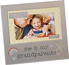 Oaktree Gifts Me & My Grandparents Aluminium Photo Frame 6 x 4