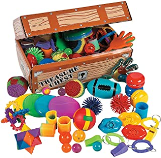 Fun Express Toy Assortment Treasure Chest - 100 Pieces