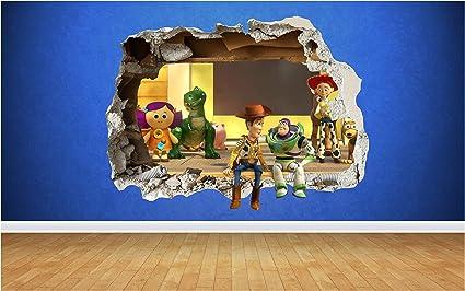 Dizzy Bob the Builder Mur Autocollant Sticker Chambre Vinyle Enfants Art Decor