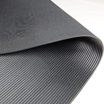 3m/² 1,0 x 3,0m Feinriefenmatte Gr/ö/ße + Farbe w/ählbar Farbe: Schwarz St/ärke: 3mm