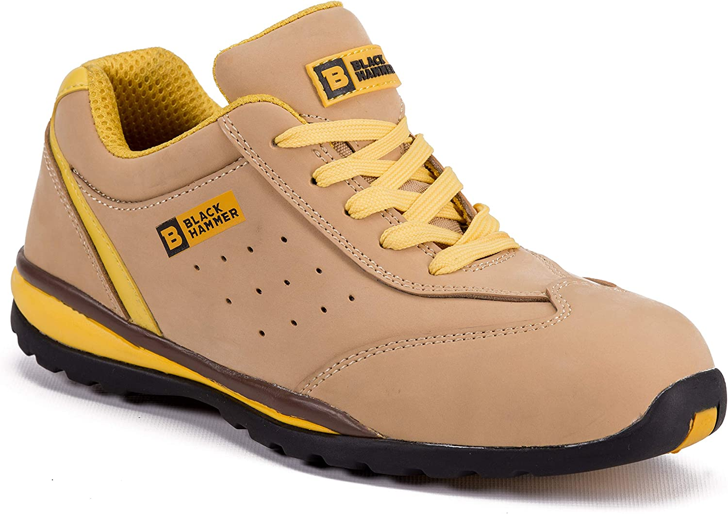 Black Hammer Safety Steel Industrial Construction Mail order cheap Toe Ranking TOP13 Sneakers