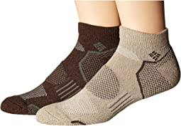 2-Pack Low Cut Walking Socks