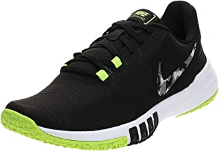 Nike FLEX CONTROL TR4, Men's Road Running Shoes, Black (Black/Smoke Grey-Ghost Green-Photon Dust)