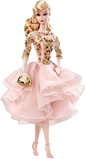 Barbie  Fashion Model Collection, Blush & Gold Cocktail Dress