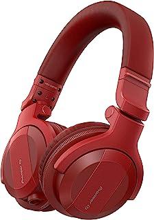 Pioneer Audífonos para DJ HDJ-CUE1BT-R Rojo Bluetooth Class 2