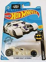 Hot Wheels 2019 Batman The Dark Knight Batmobile, White 153/250