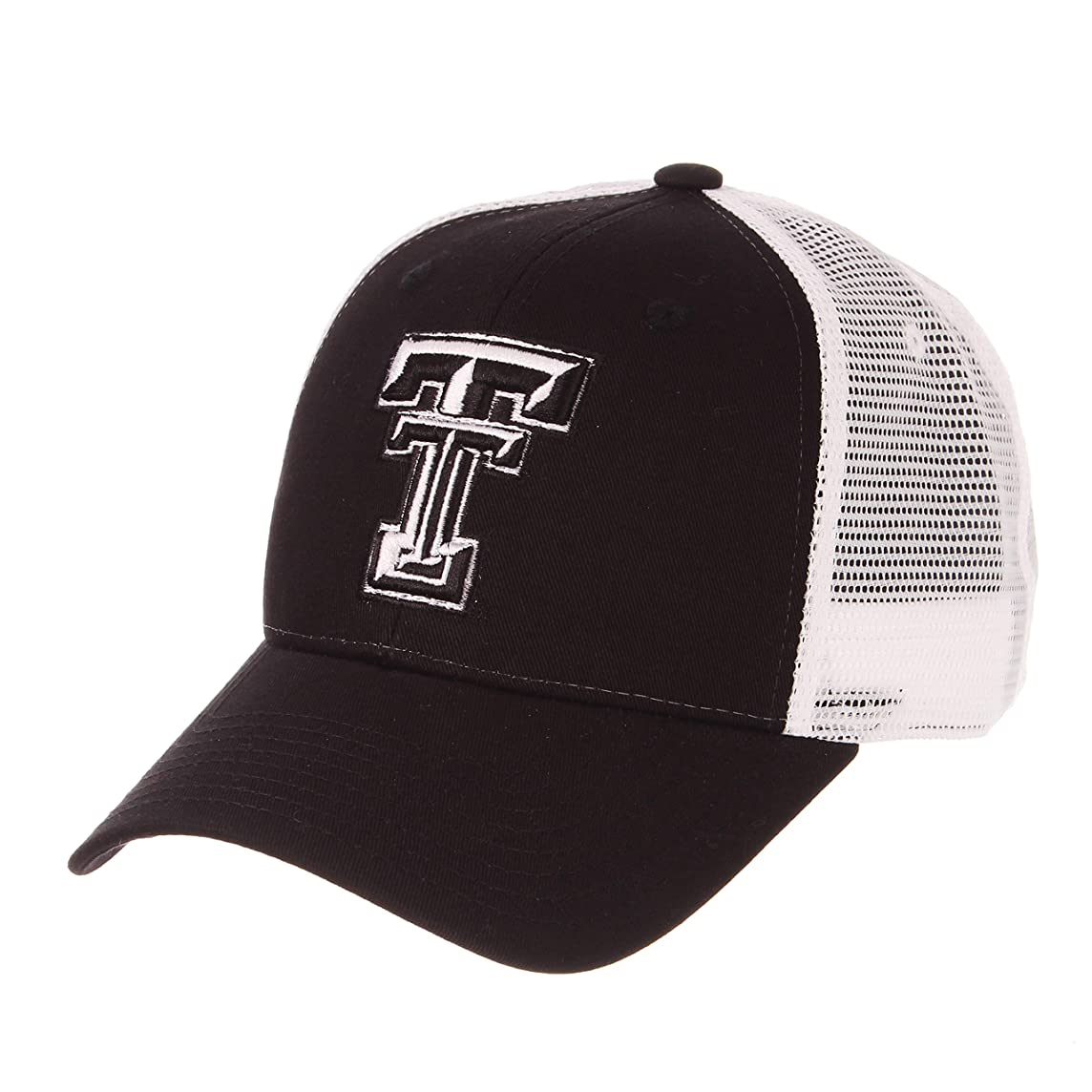 Zephyr Texas Tech University Red Raiders Black Big Rig Mesh Trucker Mens/Boys/Women Best Baseball Hat/Cap Size Adjustable