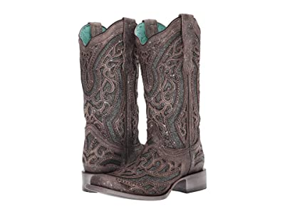 Corral Boots E1512 (Brown/Grey) Women