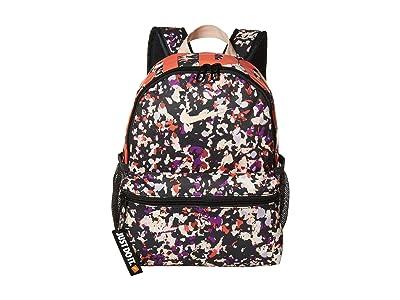 Nike Kids Brasilia JDI Backpack (Little Kids/Big Kids) (Dark Smoke Grey/Washed Coral/Washed Coral) Backpack Bags