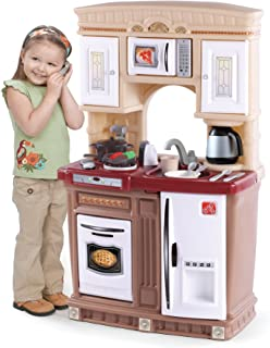 Step2 Fresh Accents Kitchen Pretend Play and Dress-up Toy [Brown, 706100]